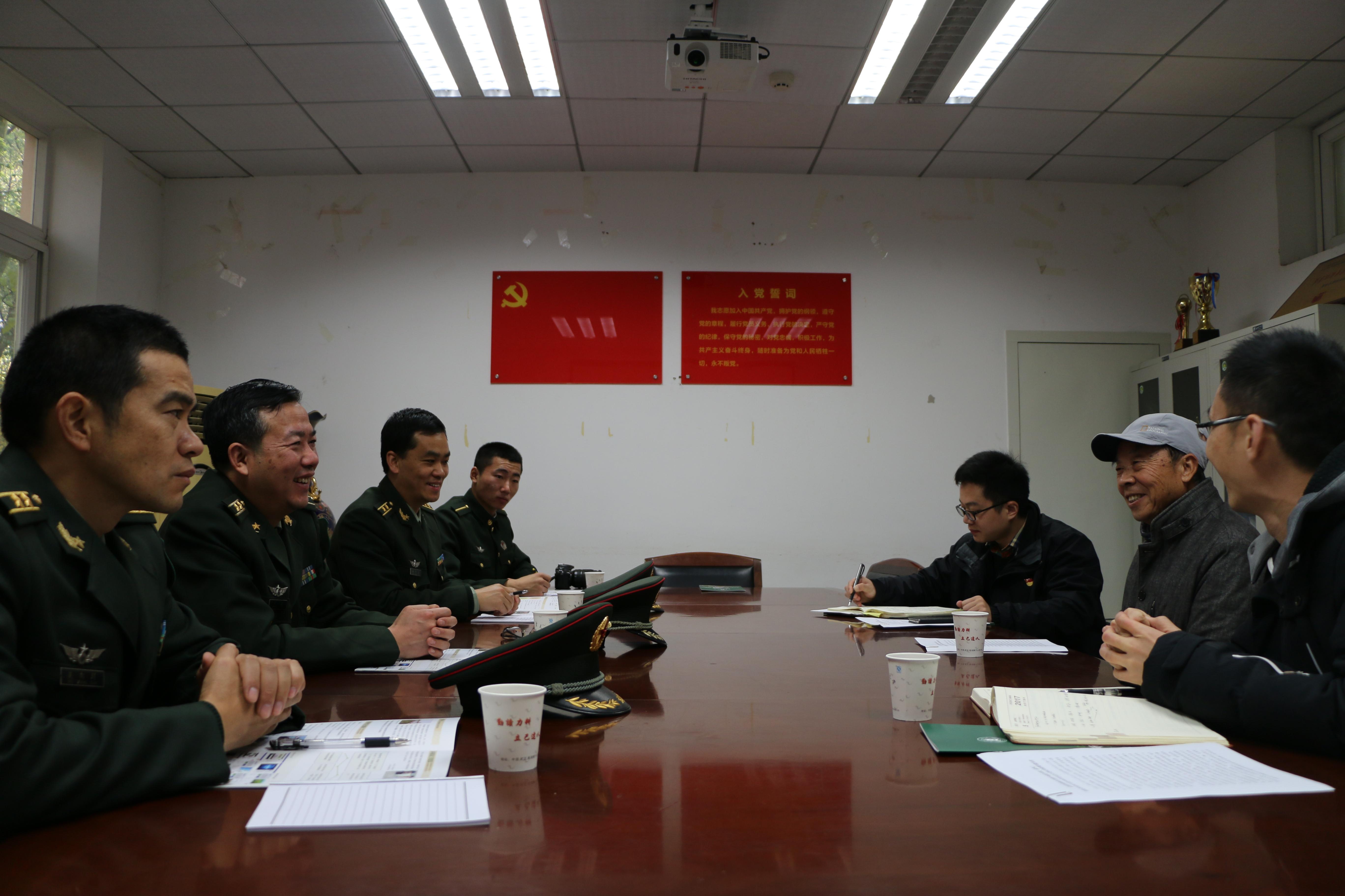 陆军工程大学军械士官学校王虎一行来院交流